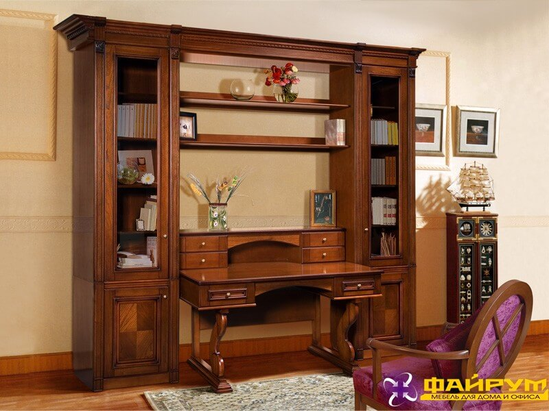 Мебель для кабинета тимбер (неаполь) белорусская мебель - вл.