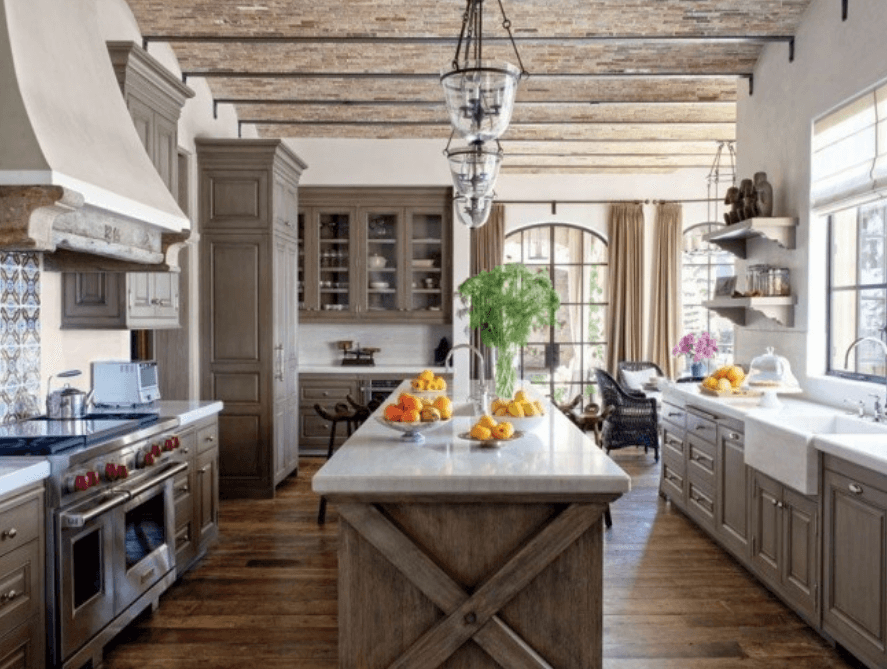 Кухня в стиле кантри - Фото 1