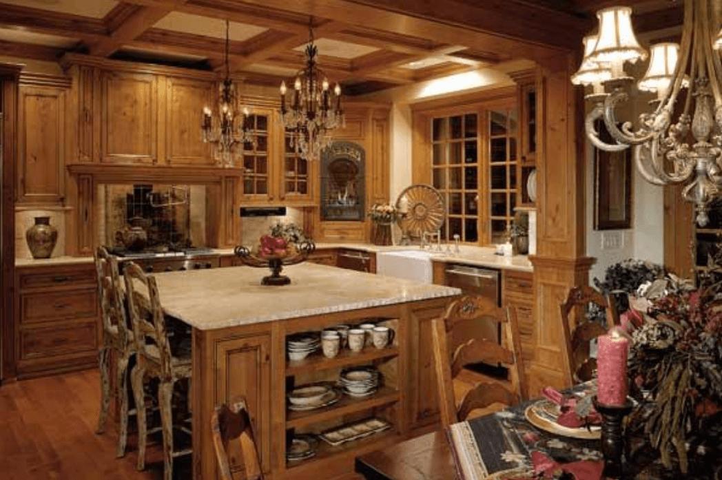 Кухня в стиле кантри - Фото 4